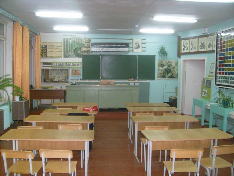 Оформление кабинета химии и биологии в сельской школе своими руками